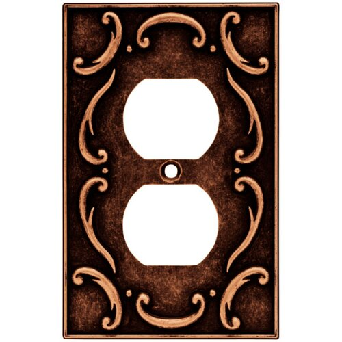 French Lace Single Duplex Wall Plate
