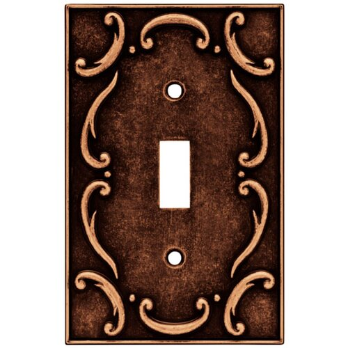 French Lace Single Switch Wall Plate