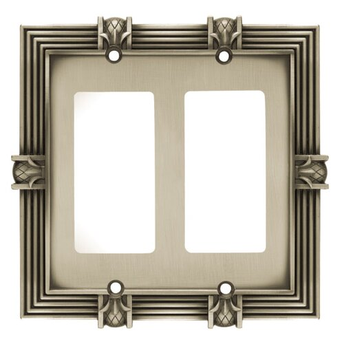 Pineapple Double GFCI/Rocker Wall Plate
