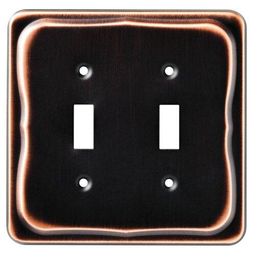 Brainerd Tenley Double Switch Wall Plate