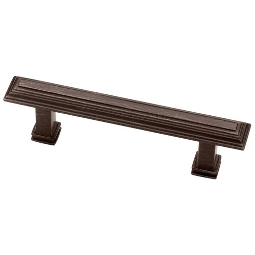 "Liberty Hardware Decorative Raised Panel Stepped 0.63"" Bar Pull"