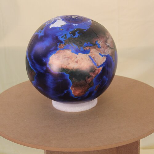 Jet Creations Marble Globe with Negative Ions