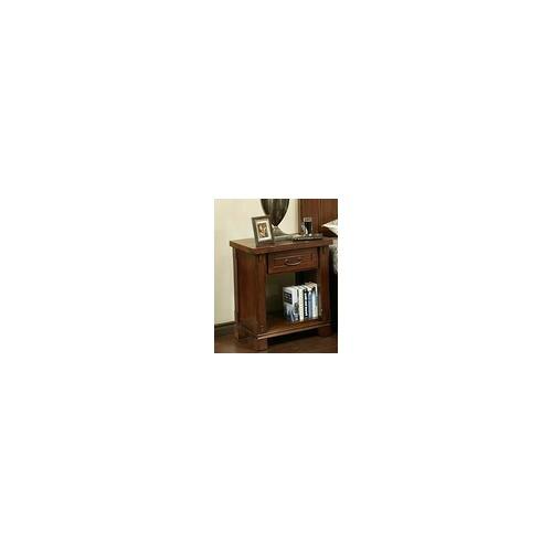 Fergus County 1 Drawer Nightstand