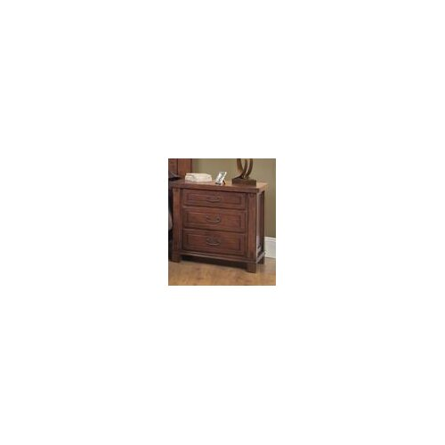 AYCA Furniture Fergus County 3 Drawer Nightstand