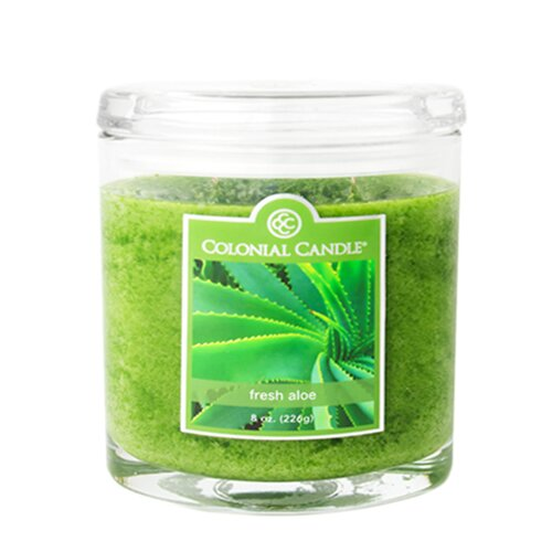 Colonial Candle Fresh Aloe Jar Candle