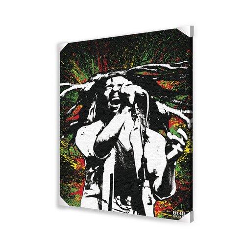 Bob Marley Memorabilia on Canvas