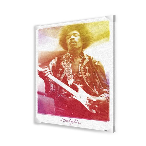 Ace Framing Jimi Hendrix Legendary Photographic Print on Canvas