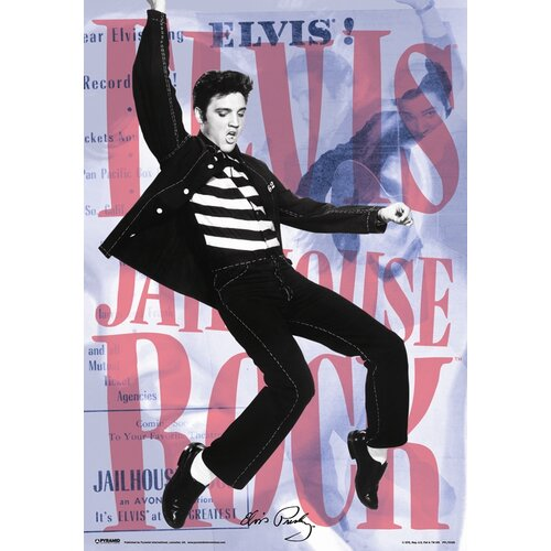 3D Elvis Dance Framed Vintage Advertisement