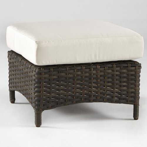Panama Ottoman with Cushion