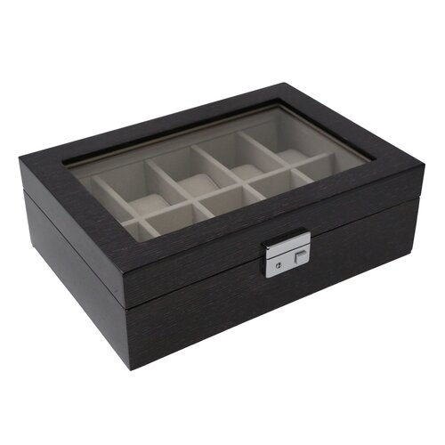 Bey-Berk 10 Watch Box