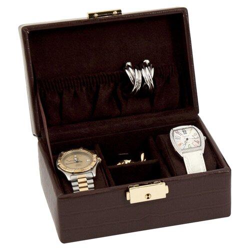 Bey-Berk Croco 2 Watch Box