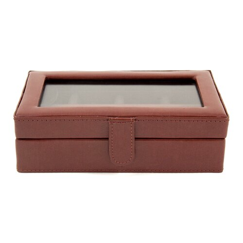 Bey-Berk 12 Pocket Cufflink Box
