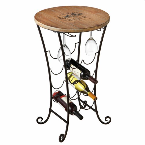 Vineyard Table 8 Bottle Wine Rack