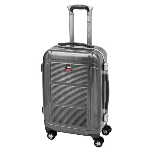 "Mancini Armour-1 20"" Hardsided Carry-On Spinner Suitcase"