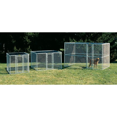 Midwest Homes For Pets Steel Chain Link Portable Yard Kennel