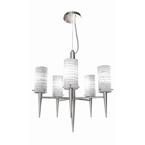 Inciso 5 Light Pendant Chandelier