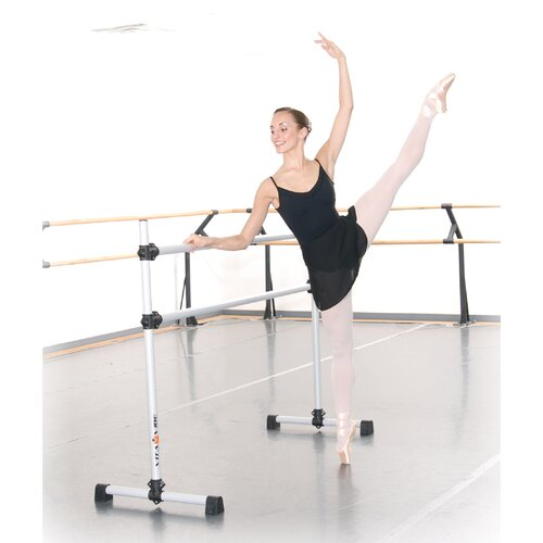 Vita Vibe Professional Series Double Bar Ballet Barre n Bag Kit