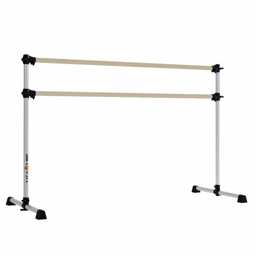 Prodigy Series Traditional Wood Double Bar Ballet Barre