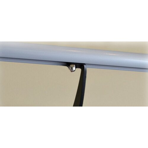 Vita Vibe Wall Barre Series Modern Aluminum  Single Bar Fixed Height Ballet Barre Kit