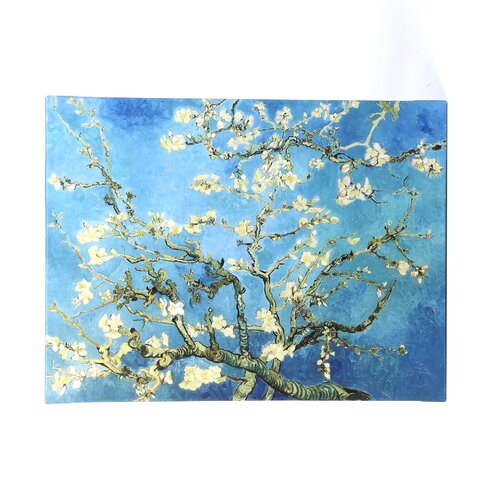 Art Wall ''Almond Blossom'' by Vincent Van Gogh Painting Print on Canvas