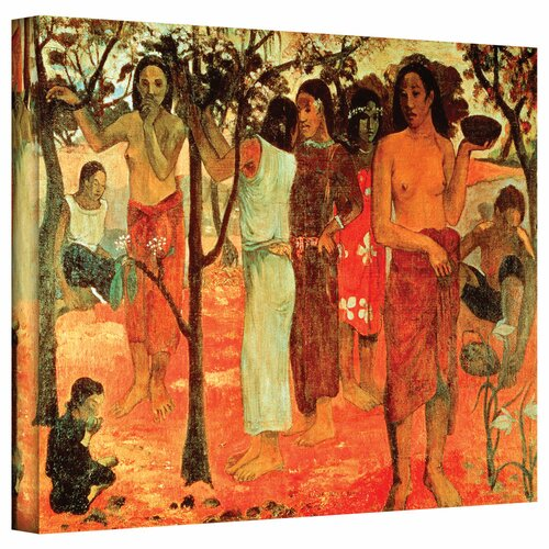 Art Wall 'Nave Nave Mahana (Delightful Days)' by Diego Velazquez Gallery-Wrapped on Canvas