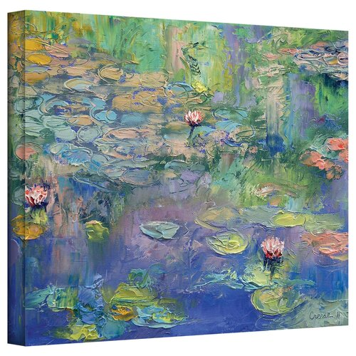 'Water Garden' by Michael Creese Gallery-Wrapped on Canvas