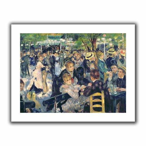'Ball at the Moulin de la galette' by Pierre Renoir Unwrapped on Canvas