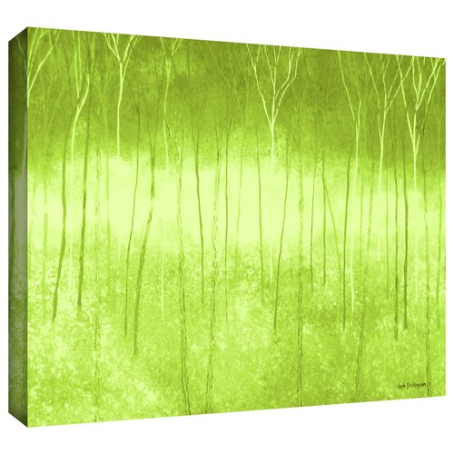 'Verda Forest' by Herb Dickinson Gallery Wrapped on Canvas