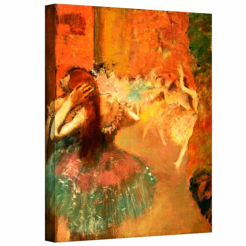 'Ballet Scene' by Edgar Degas Gallery-Wrapped on Canvas