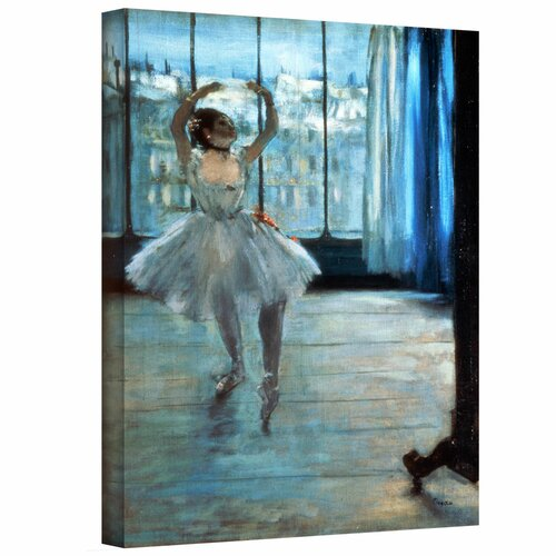 'Dancer in Front of a Window (Dancer at the Photographers Studio)' by Edgar Degas ...