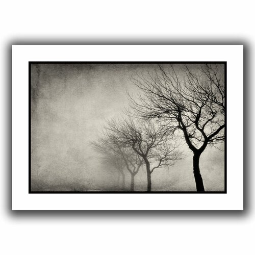 'Early Morning Sepia' by Cora Niele Canvas Poster