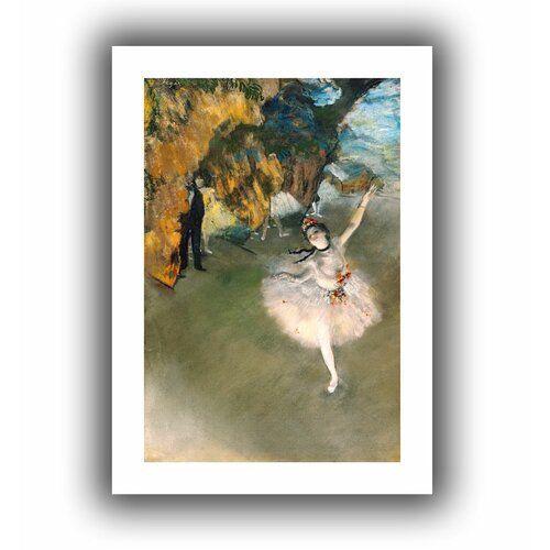 'The Rehearsal' by Edgar Degas Unwrapped on Canvas