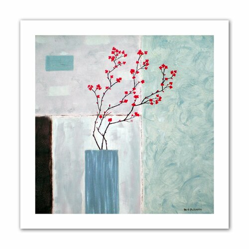 "Art Wall ""Tranquil"" by Herb Dickinson Original Painting on Canvas"