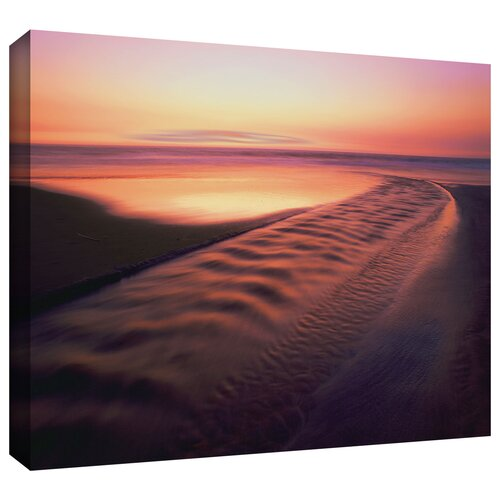 Back to the Sea' by Dean Uhlinger Photographic Print Gallery-Wrapped on Canvas