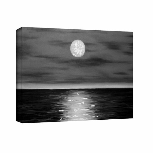 'Moon Rising' by Jim Morana Gallery-Wrapped Canvas Art