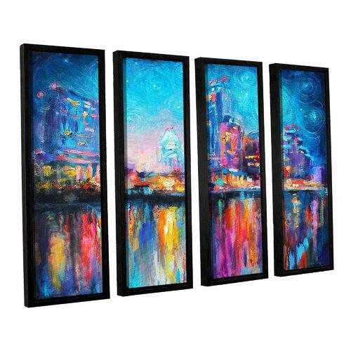 4 Piece Giolla Wall Decor Set : Impressionistic austin by svetlana novikova piece