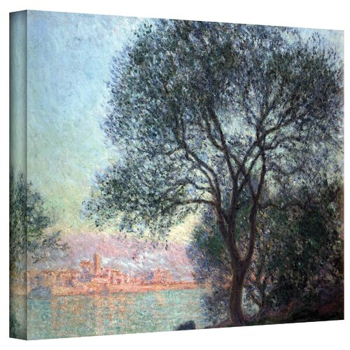 Art Wall ''Antibbes'' by Claude Monet Painting Print on Canvas