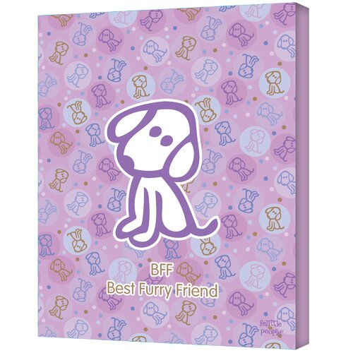 Art Wall Felittle People ''Best Furry Friend'' Canvas Art