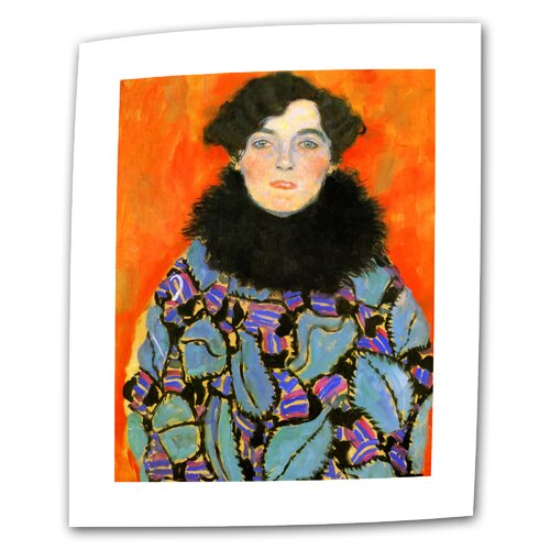 "Art Wall ""Johanna Staude"" by Gustav Klimt Original Painting on Canvas"