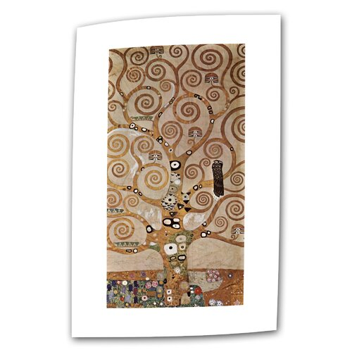 "Art Wall ""Tree of Life"" by Gustav Klimt Painting on Canvas"