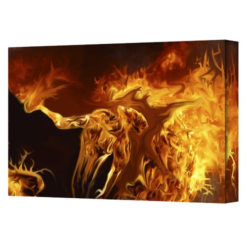 Art Wall ''Pyro'' by Pyro Painter Graphic Art on Canvas