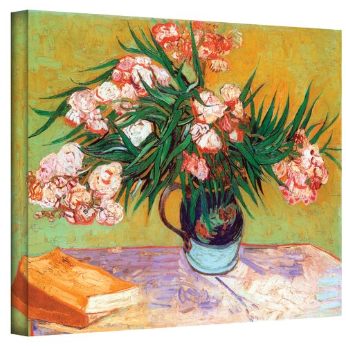 "Art Wall ""Oleander"" by Vincent Van Gogh Painting Print on Canvas"