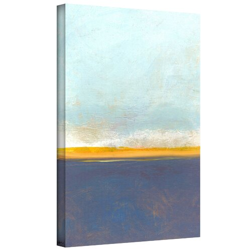 'Big Sky Country I' by Jan Weiss Graphic Art Canvas