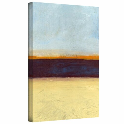 'Big Sky Country II' by Jan Weiss Graphic Art Canvas