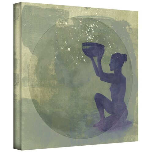 Art Wall 'Astral Goddess' by Elena Ray Painting Print on Canvas