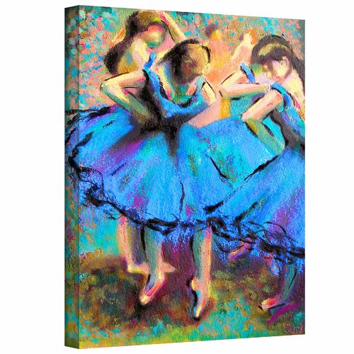 Art Wall 'My Degas' by Susi Franco Painting Print on Canvas