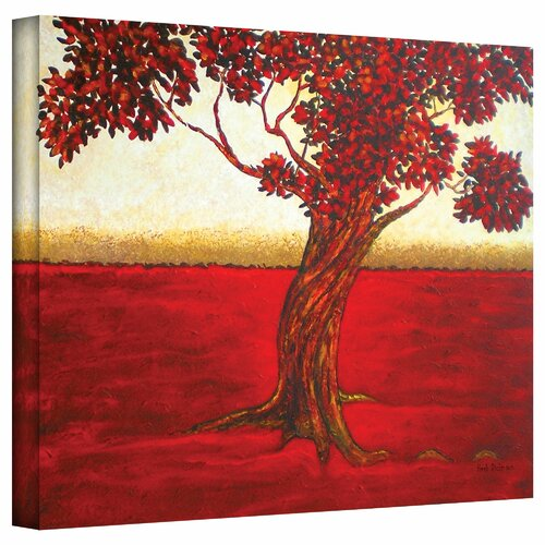 Art Wall 'Ethereal Tree II' by Herb Dickinson Painting Print on Canvas