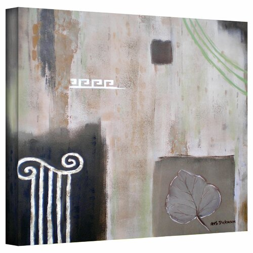 Art Wall 'Greek Tribute I' by Herb Dickinson Painting Print on Canvas