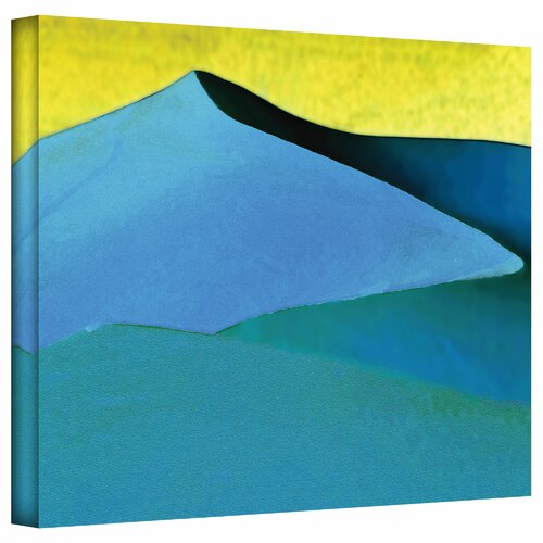 Art Wall 'Evening at the Dunes' by Linda Parker Photographic Print on Canvas