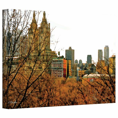'Urban Autumn, NYC' by Linda Parker Photographic Print on Canvas
